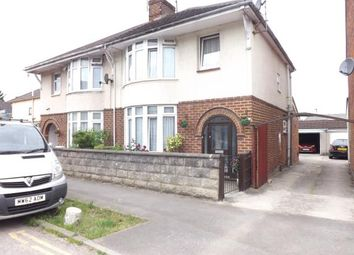 Thumbnail 3 bed semi-detached house for sale in Norman Road, Gorsehill, Swindon, Wiltshire