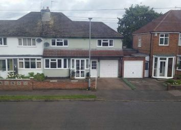 Thumbnail 3 bed semi-detached house for sale in Kirloe Avenue, Leicester Forest East