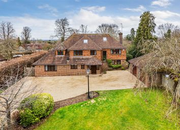 Thumbnail 5 bed detached house for sale in Abbots Way, Guildford