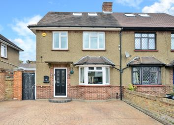 Thumbnail 3 bed semi-detached house for sale in Arnold Road, Staines