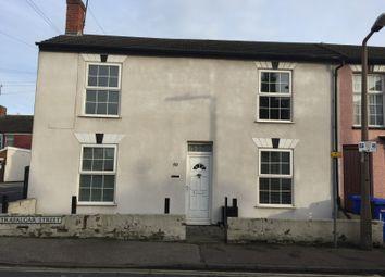 Thumbnail 2 bed end terrace house to rent in Trafalgar Street, Lowestoft