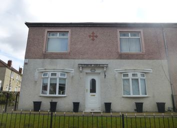 Thumbnail 2 bed flat for sale in Woodside Street, Coatbridge