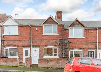 Thumbnail 2 bed terraced house for sale in Hunloke Road, Chesterfield, Derbyshire