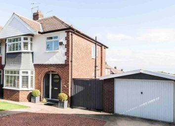 Thumbnail 3 bed semi-detached house for sale in Serpentine Road, Hartlepool