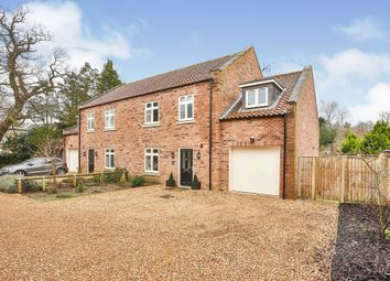 Thumbnail 4 bed semi-detached house for sale in Orchard Close, Norwich Road, Fakenham