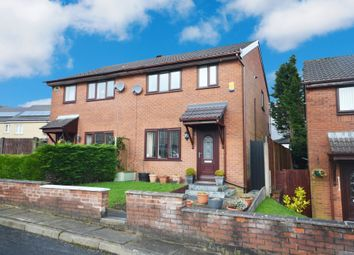 Thumbnail 3 bed semi-detached house for sale in Higher Lawrence Street, Sunnyhurst, Darwen