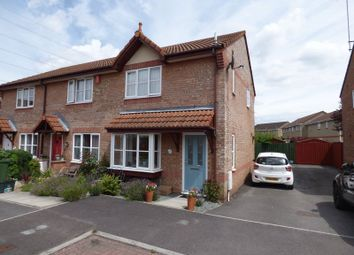 Thumbnail 2 bed end terrace house for sale in Lombardy Close, Weston-Super-Mare