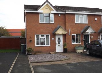 Thumbnail 3 bedroom end terrace house for sale in Walkers Fold, Willenhall, West Midlands