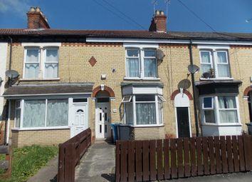 Thumbnail 4 bedroom terraced house for sale in Lambert Street, Kingston Upon Hull HU5 2Sg