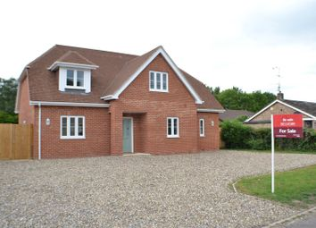 Thumbnail 4 bed detached house for sale in Newtown, Tadley