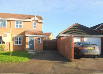 Thumbnail 3 bed semi-detached house to rent in Epsom Close, Rushden