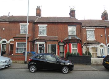 Thumbnail 2 bed terraced house to rent in Bowthorpe Road, Norwich
