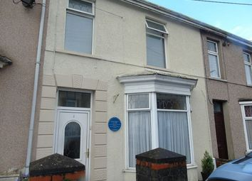 Thumbnail 4 bed terraced house to rent in New Road, Dafen, Llanelli