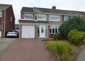 Thumbnail 4 bed semi-detached house to rent in Caistor Drive, Hartlepool