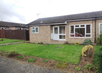 Thumbnail 2 bed bungalow to rent in St Marys Close, Bacton, Suffolk