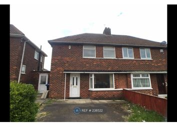 Thumbnail 2 bed semi-detached house to rent in Overdale Road, Middlesbrough