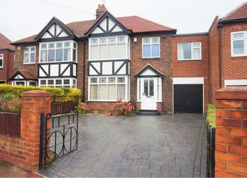 Thumbnail 5 bed semi-detached house for sale in Rokeby Drive, Newcastle Upon Tyne