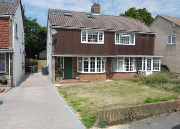 Thumbnail 4 bed semi-detached house for sale in Noel Green, Burgess Hill