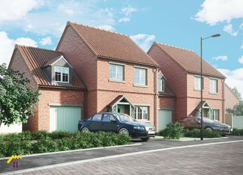 Thumbnail 4 bed link-detached house for sale in The Moorings, Off Of White Lane, Thorne