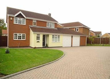 Thumbnail 4 bed detached house for sale in Broadsword Way, Burbage, Hinckley