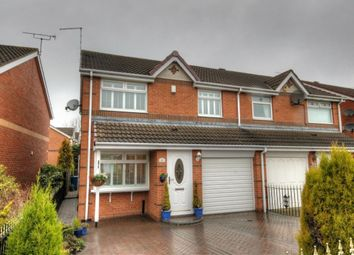 Thumbnail 3 bed semi-detached house for sale in Berrington Drive, Windsor Gardens, Newcastle Upon Tyne