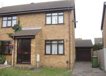 Thumbnail 2 bed semi-detached house to rent in Bewick Close, Bradwell, Great Yarmouth