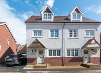 Thumbnail 4 bed semi-detached house for sale in Excalibur Drive, Mon Bank, Newport, Gwent .