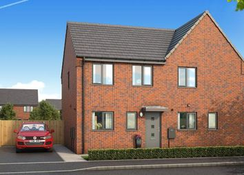 "Thumbnail 3 bedroom property for sale in ""The Kendal At Kingfields Park"" at Kesteven Way, Kingswood, Hull"