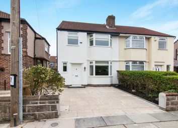 Thumbnail 3 bed semi-detached house for sale in Dorbett Drive, Crosby, Liverpool, Merseyside