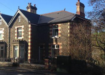 Thumbnail 4 bed semi-detached house for sale in Ffrwyd Villas, Llangeinor, Bridgend