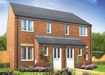 "Thumbnail 2 bed terraced house for sale in ""The Alnwick"" at Mortimers Lane, Fair Oak, Eastleigh"