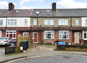 Thumbnail 3 bed terraced house for sale in Coombe Road, Wood Green, London