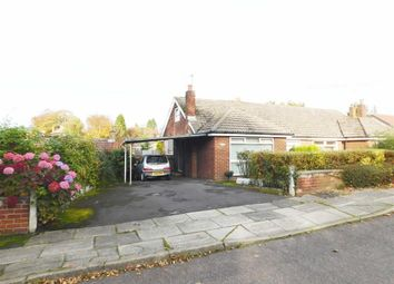 Thumbnail 3 bed semi-detached bungalow for sale in Edinburgh Drive, Woodley, Stockport