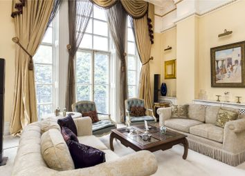 Thumbnail 4 bedroom flat for sale in Albert Hall Mansions, Kensington Gore, London