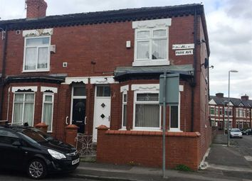 Thumbnail 3 bed end terrace house for sale in Parkdale Avenue, Gorton, Manchester