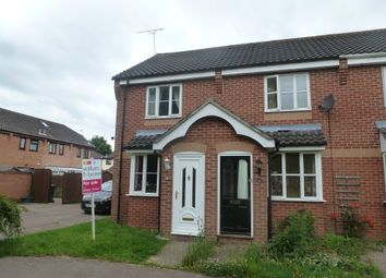 Thumbnail 2 bedroom end terrace house for sale in Hewitts Close, Briston, Melton Constable