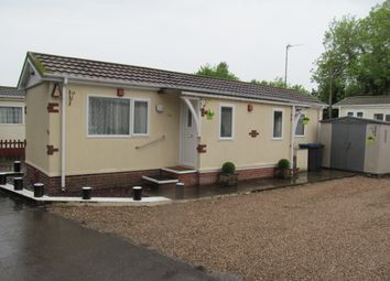 Thumbnail 1 bed mobile/park home for sale in The Conifers Mhp (Ref 5602), Station Road, Ratby, Leicester