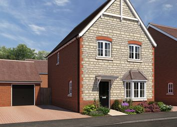 "Thumbnail 4 bedroom detached house for sale in ""The Ashby 2"" at The Ridge, Blunsdon, Swindon"