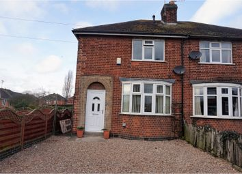 Thumbnail 2 bedroom semi-detached house for sale in Roydene Crescent, Leicester