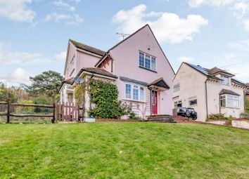 Thumbnail 4 bed detached house for sale in The Crescent, Farnham