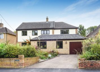Thumbnail 5 bed detached house for sale in Manor Road, Wantage