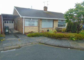 Thumbnail 2 bedroom semi-detached bungalow for sale in Westgarth, Westerhope, Newcastle Upon Tyne