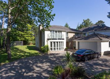 Thumbnail 4 bedroom detached house for sale in Crichel Mount Road, Canford Cliffs, Poole