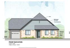 Thumbnail 3 bed detached bungalow for sale in Adj To Broadacres, East Coker, Yeovil, Somerset