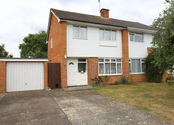 Thumbnail 3 bed semi-detached house to rent in Fitzroy Crescent, Woodley, Reading