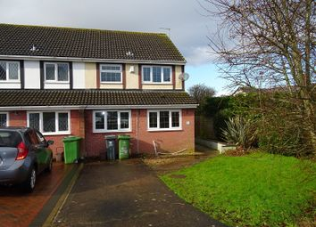 Thumbnail 3 bed end terrace house to rent in Traherne Drive, Michaelston-Super-Ely, Cardiff