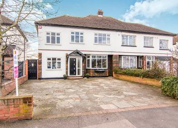 Thumbnail 4 bedroom semi-detached house for sale in Main Road, Gidea Park, Romford