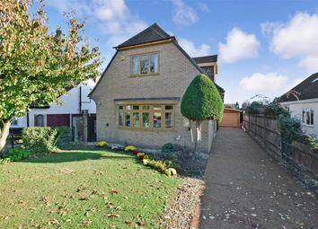 Thumbnail 3 bed detached house for sale in Lewis Road, Istead Rise, Kent