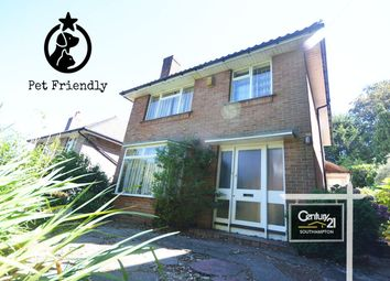 Thumbnail 3 bed detached house to rent in Chalk Hill, Southampton, Hampshire