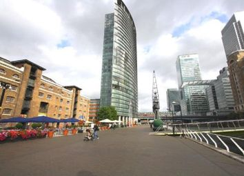 Thumbnail 1 bed flat to rent in No 1 West India Quay, Hertsmere Road, Canary Wharf, London